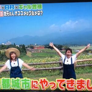 【番外編】テレビ「バナナマンのせっかくグルメ!!」で宮崎県都城市へ