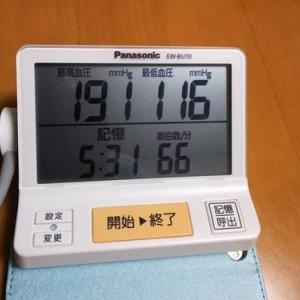 突然の高血圧