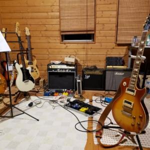 夜中のギター