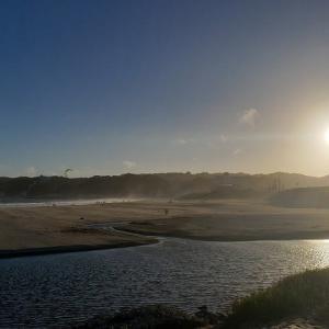 夕方の御宿海岸