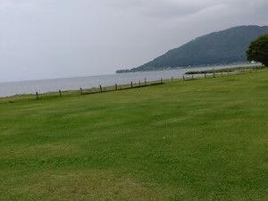 「ドッググランピング滋賀高島」の帰りは琵琶湖散歩