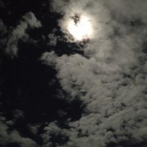 ナイトランから中秋の名月