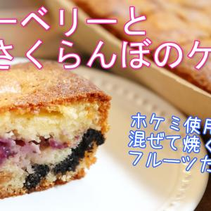 ホケミを使って超簡単!爽やか!フルーツたっぷりケーキ