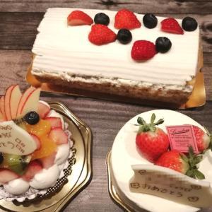 カロリーの追い打ち(笑)誕生日ケーキがなぜか3つ\(^o^)/