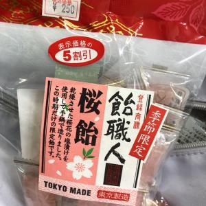桜に置いていかれたお菓子たち