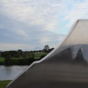 この秋初めての富士山
