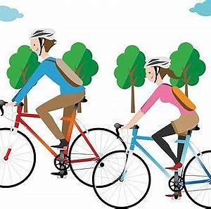 今日はサイクリングの日
