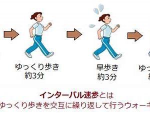 マイブーム・インターバル速歩