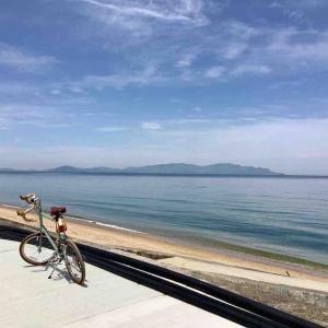 自転車通勤、再開(何年振りだか)