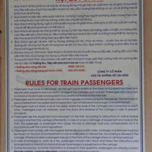 一昨年前にベトナム鉄道を乗りに行って来ました! ⑨  [今日はこどもの日]