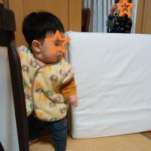 次男の玩具作り ☆長男3歳5カ月、次男7カ月