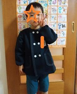 明日は入園式 ☆ 長男3歳9ヶ月