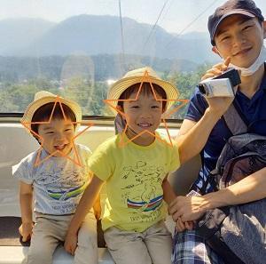 ゴンドラとロープウェイと栂池自然園 ♡ 5歳・2歳