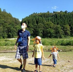 写真日記 On a camping trip ☆ 長男5歳1ヶ月