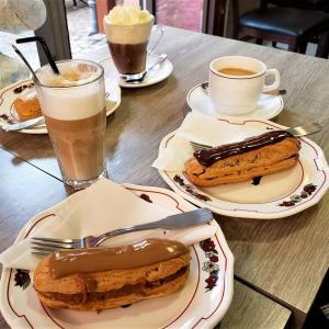 エクレアでカフェタイム「Boulangerie Patisserie Marx」(フランス・エギスハイム)