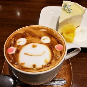 可愛いくまモンラテに感動「Cafe SWITCH」(熊本)