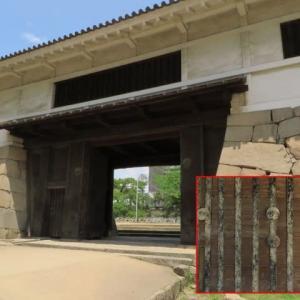 駅の真ん前にある「福山城跡9」