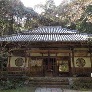富雄川流域探索「岩ごと本堂の中へ…」
