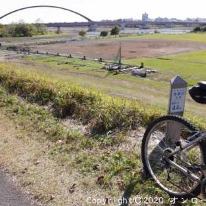 【MTB】多摩川サイクリングロード左岸を走りました! ①  [今日は方言の日]