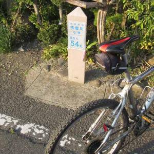 【MTB】多摩川サイクリングロード 羽村堰の先チューリップまつり! ①   [今日は昭和の日]