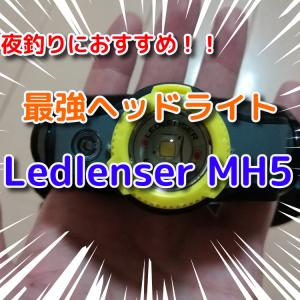 【夜釣りにおすすめ】レッドレンザーのヘッドライトMH5