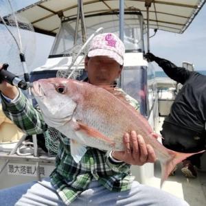 淡路島で船釣り~シラサエビのメバルとタイラバ初挑戦~