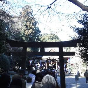 CROSSが行く!高徳神社へ初詣(埼玉県鶴ヶ島市)2021.01.01