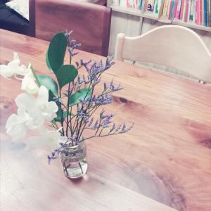 お花のある暮らしと知育、自分の趣味