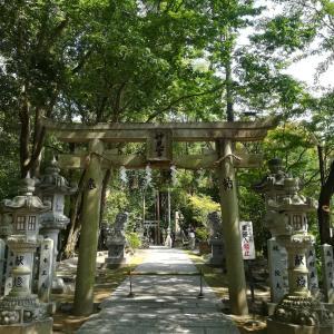 紫微斗数に縁の神社、星田妙見宮へ