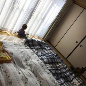 ベッドを捨ててゆったりとした空間を手に入れた