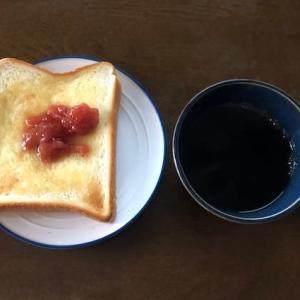 気軽なひとり朝ごはんと、ひとり晩ご飯