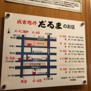 北海道2019年8月 ☆だるま4・4二階亭