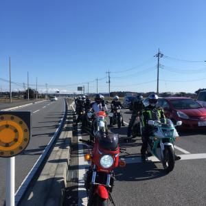バイク神社へマスツーリング