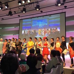 アトリエ美の精 創立10周年記念 ファッションショーに 出演