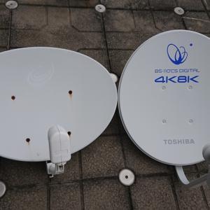4K対応アンテナ設置完了!テレビは?