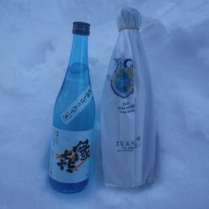 雪中熟成生酒雪中作り