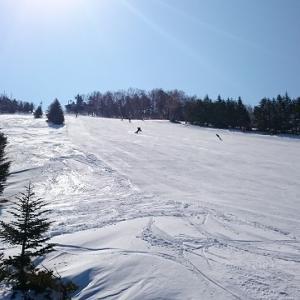 高天ヶ原・一ノ瀬・寺小屋スキー場の様子