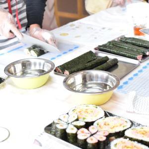 飾り巻き寿司レッスン「古典柄」を盛り込み!