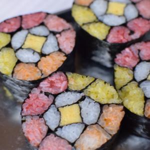 飾り巻き寿司レッスンレポ!鉾田市内からありがとうございます