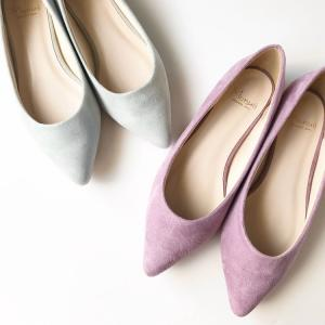 プチプラな春靴を色違いで購入♪