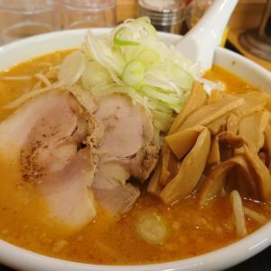成田市 ラーメンとらじ食堂 味噌らーめん メンマトッピング