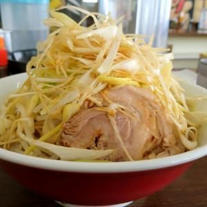 らーめん 旭郎山の郎麺(並)ネギトッピング