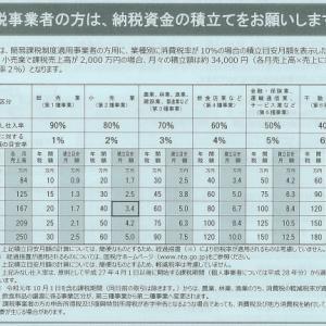 【消費税増税】納税資金の積み立て