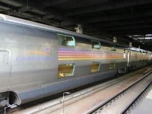 鉄道おまけ~YEBISU×日本の鉄道 ヘッドマーク チャーム「カシオペア」