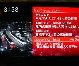 晴耕雨読日記 2020年(令和2年)4月6日 月曜日 生活リズム