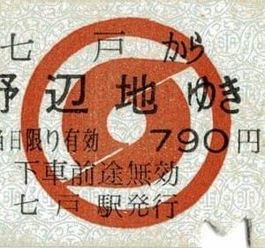 鉄道コレクション28~南部縦貫鉄道「きっぷ」その3