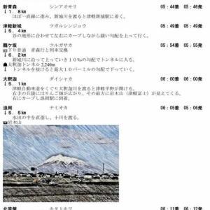 「妄想 最長片道切符」の旅だと思う! 第6日目 第28列車 新青森→川部