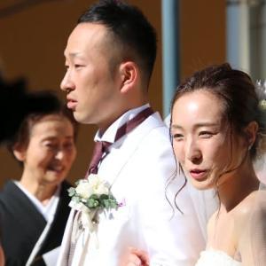 2019.5.25  結婚式にて