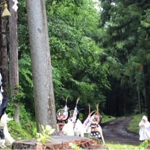 2019年 日出神社例大祭で舞う