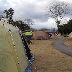 いつの間にか人気キャンプ場になっていた中主吉川公園【5年目3泊目】